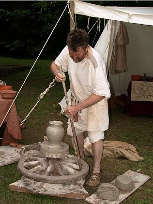 Ancient Pottery Demonstrations